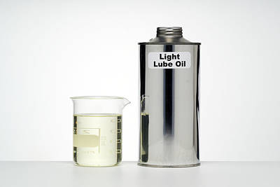 Light Lubricating Oil Poster by Paul Rapson
