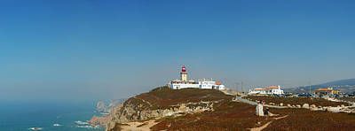 Poster featuring the photograph Lighthouse At Cabo Da Roca by Luis Esteves