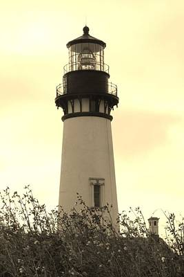 Poster featuring the photograph Lighthouse Tranquility by Athena Mckinzie