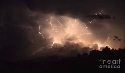 Lightning Poster by Bob Christopher