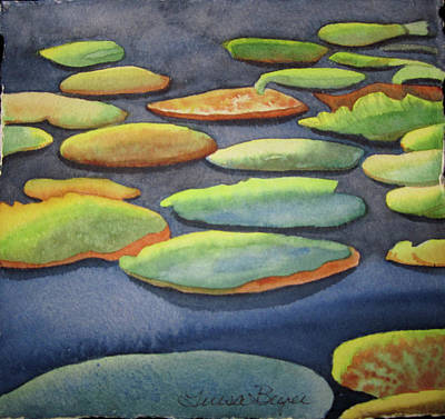 Lily Pad Poster by Teresa Beyer