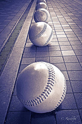 Line Drive Poster