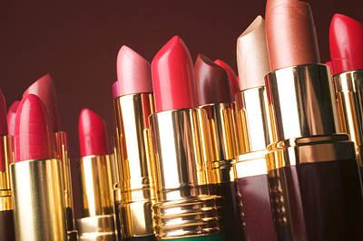 Lipstick Tubes Poster