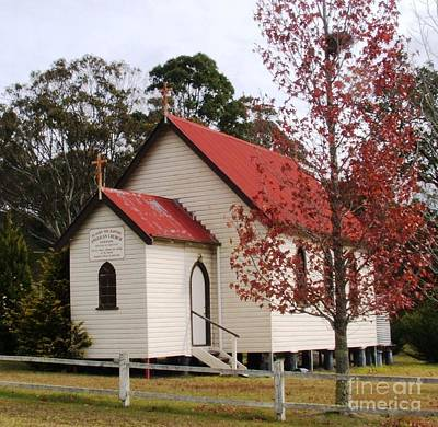 Liston Country Church Poster by Therese Alcorn