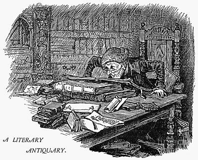 Literary Antiquary Poster by Granger