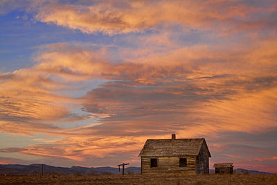 Little House On The Colorado Prairie Poster