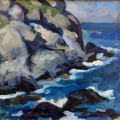 Little Maine Seascape Poster