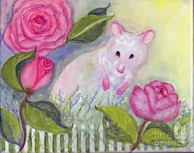 Little Mouse's Garden Poster by Doris Blessington