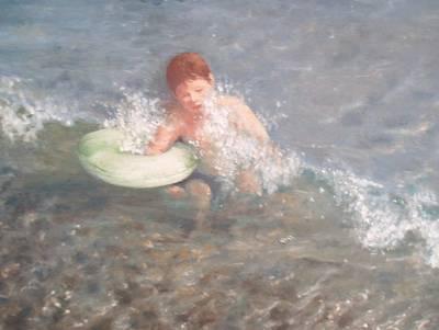 Little Swimmer Poster