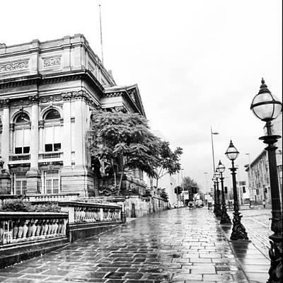 #liverpool #uk #england #rainy #rain Poster