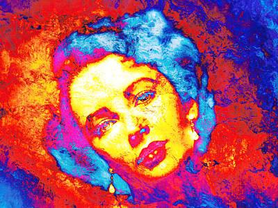 Liz Taylor Poster by J- J- Espinoza
