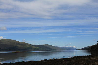 Poster featuring the photograph Loch Linnhe by David Grant