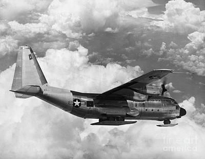 Lockheed C-130 Hercules Poster by Science Source