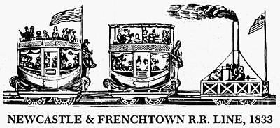 Locomotive, 1833 Poster