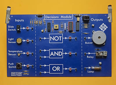 Logic Gates Poster by Andrew Lambert Photography