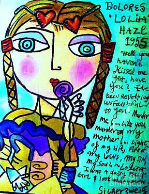 Lolita Poster by Sandra Silberzweig