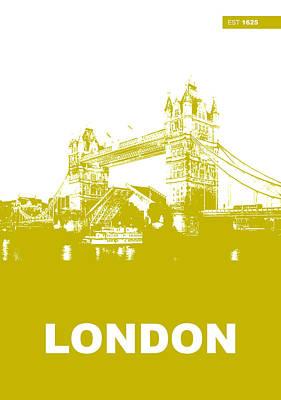 London Bridge Poster Poster by Naxart Studio