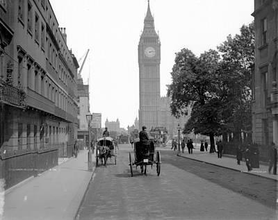 London Cab Rides Poster