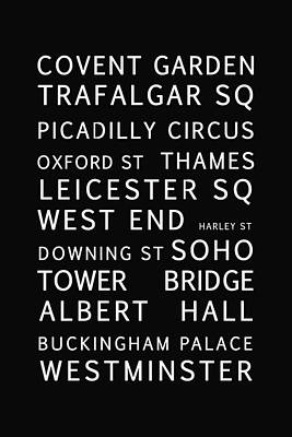 London Poster by Georgia Fowler