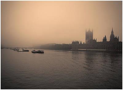 London Smog/fog Poster by Lenny Carter