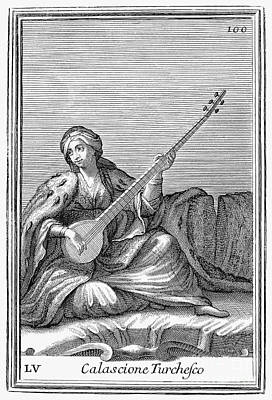 Long Lute, 1723 Poster by Granger