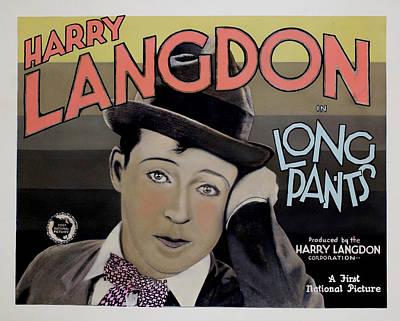 Long Pants, Harry Langdon, 1927 Poster