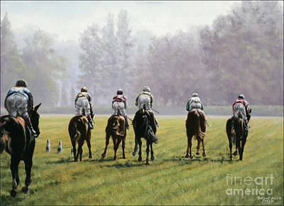 Longchamp Poster by Thomas Allen Pauly