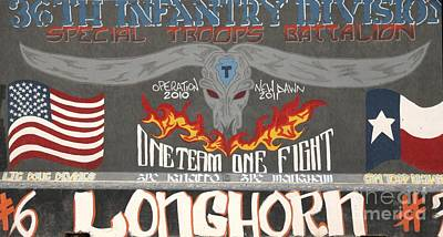 Longhorns Poster by Unknown