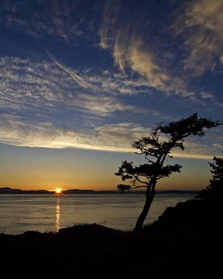 Lopez Island Sunset Poster