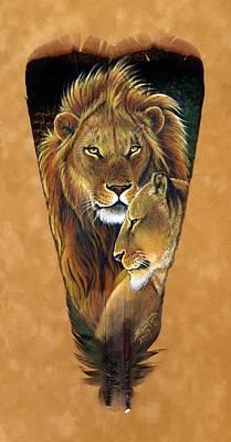 Lord And Lady Poster by Sandra SanTara