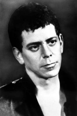 Lou Reed, Ca 1980s Poster