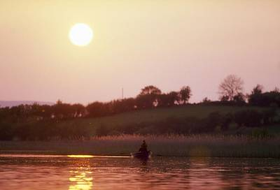 Lough Arrow, Co Sligo, Ireland, Angling Poster