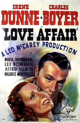 Love Affair, Irene Dunne, Charles Poster by Everett