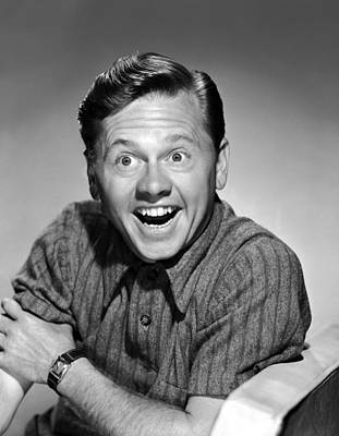 Love Laughs At Andy Hardy, Mickey Poster
