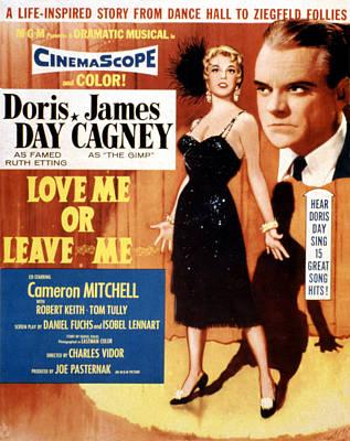 Love Me Or Leave Me, Poster Art, Doris Poster
