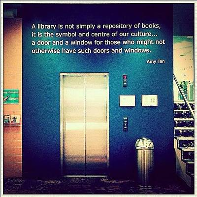 Love This Library Quote, Should Be More Poster