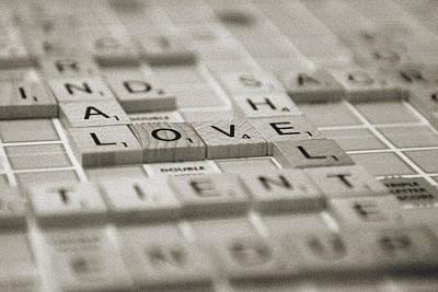 Love Tiled 1 Poster
