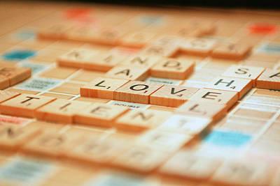 Love Tiled 2 Poster