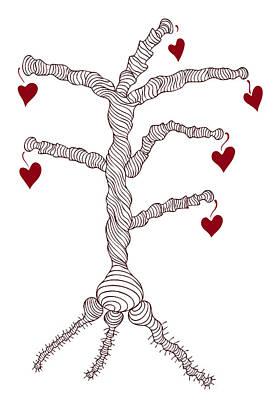 Love Tree Poster by Frank Tschakert