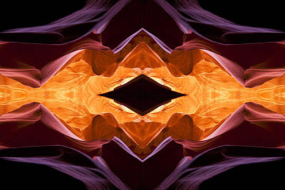 Lower Antelope Canyon Eye Poster by Gregory Scott