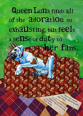 Luna On Adoration Poster