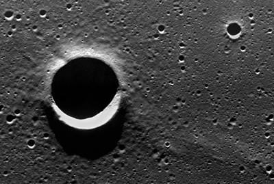 Lunar Crater, Apollo 17 Photograph Poster