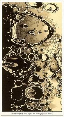 Lunar Crater Observations, 1882 Poster by Detlev Van Ravenswaay