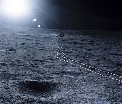 Lunar Landing Module Poster by Nasa