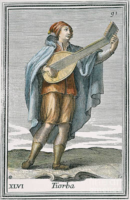 Lute, 1723 Poster