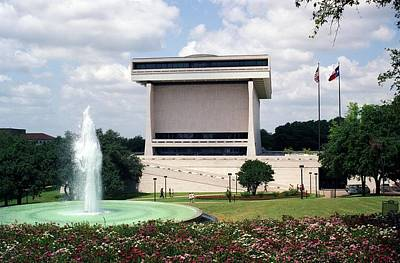 Lyndon Johnson Library And Museum Poster