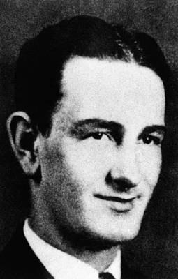 Lyndon Johnson Portrait In The 1930 Poster