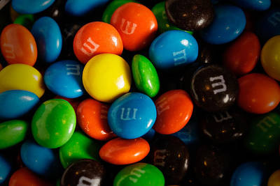 M And M's Poster by Rick Berk