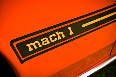 Mach 1 Poster by Phil 'motography' Clark