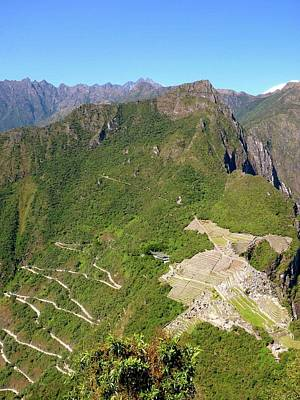 Machu Picchu Poster by Cute Kitten Images